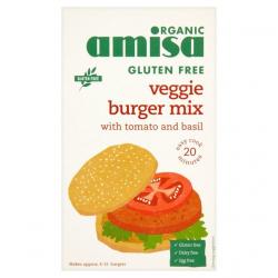 Amisa - Amisa Burger Mix -Tomato & Herb Organic - Gluten free 140g