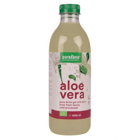 Purasana - Aloe Vera Drinking Gel (with pulp)) 1L