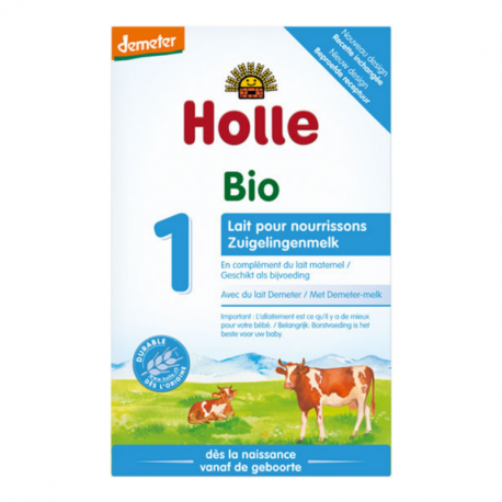 Holle - Infant Formula from birth Organic 400 G