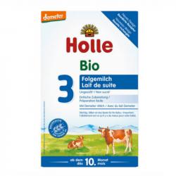 Holle - Lait de suite dès 10 mois bio 600 G