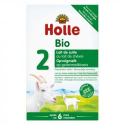 Holle - opvolggeitenmelk vanaf 6 maanden organische 400 G
