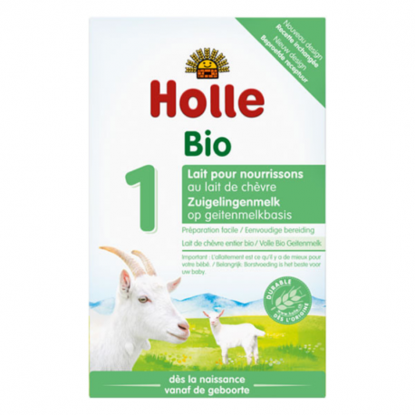 Holle - Infant Goat Milk from birth Organic 400 G