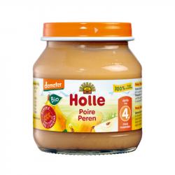 Holle - Petit pot pour bébé 100% poire bio 125 G