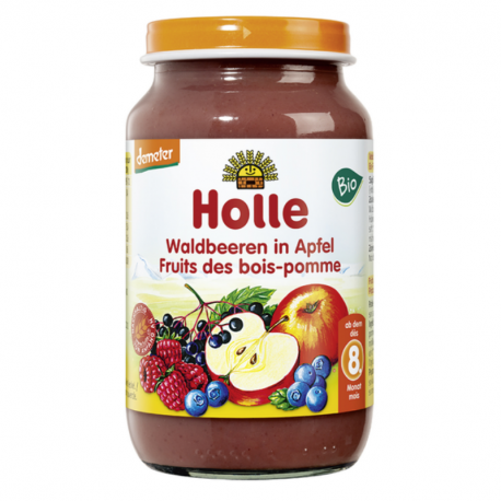 Holle - baby food Apple with forest fruits Organic 220 G