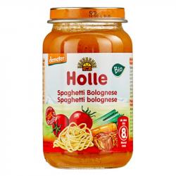 Holle - Petit pot pour bébé spaghetti bolognaise bio 220 G