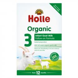 Holle - Lait de suite au lait de chèvre dès 10 mois bio 400 G