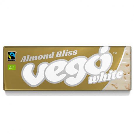 Vego- Chocolat Blanc avec Amandes Vegan & Bio 50g