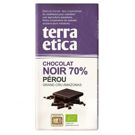 TerraEtica - Noir 70% Pérou - Grand Cru Piura 100gram