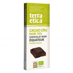 TerraEtica - Noir 70% Cacao Cru Equateur 80g