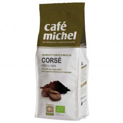 Café Michel - Sterke mix (mengsel Arabica Robusta) Peru/Tanzania 250gram