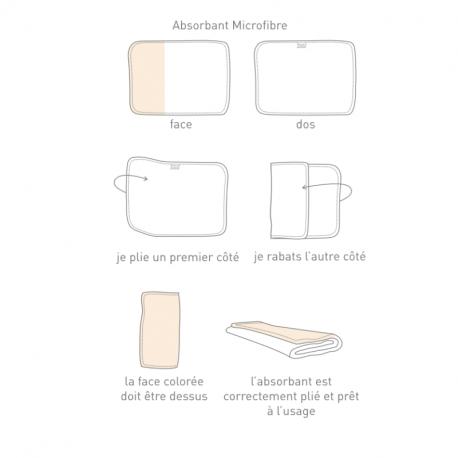 Hamac - Absorbant Microfibre(x2) T1