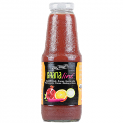 Granaline - Pur jus de grenade/Orange/ Carotte pourpre BIO 1L