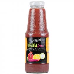 Granaline - Organic Pure pomegranate/ Orange/ black Carrots juice 1L