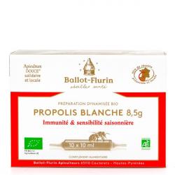 Ballot-Flurin - Préparation Dynamisée Propolis blanche (10 ampoules) 100ml