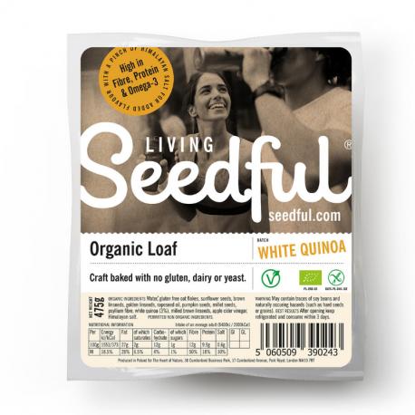 Heart of Nature - Pain Entier au Quinoa Sans Gluten Bio 485g