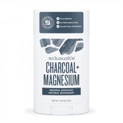 Schmidt's - Déodorant naturel stick Charbon et Magnésium 75g