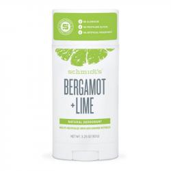 Déodorant naturel Bergamot + Lime 92g - Schmidt's