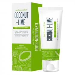 Schmidt's - Dentifrice naturel à la noix de coco et citron vert 100ml