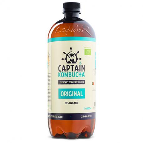 Captain Kombucha - Kombucha Original Bio 1L