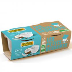 Danival - Dessert coconut milk w.gluten/w.soya organic 2x110g