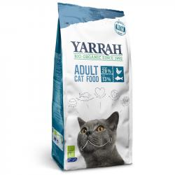 Yarrah - Croquettes biologiques au poisson pour chat - 2.4kg