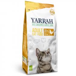 Yarrah - Croquettes biologiques au poulet pour chat - 2.4kg