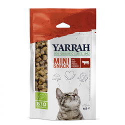 Yarrah - organic mini snack for cats 50g