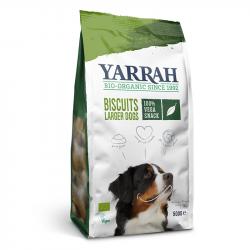 Yarrah - organic vega dog biscuits for larger dogs 500 gr