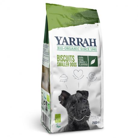 Yarrah - organic vega dog biscuits for smaller dogs 250 gr