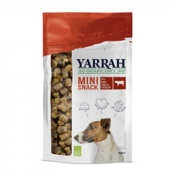 Yarrah - organic mini snack for dogs 100 gr