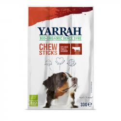 Yarrah - Bâtonnets à mâcher biologiques au boeuf pour chien 33 gr