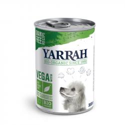 Yarrah - organic dog food vega chunks - 380g