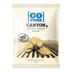 Go Pure - Organic Canyon Chips Sea Salt 125g