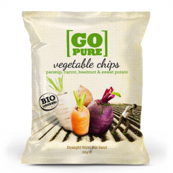 Go Pure - Organic Vegetable Chips 90g