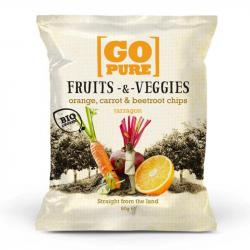 Go Pure - Organic Fruits&Veggies Orange Carrot 80g