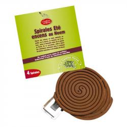 Droguerie Ecologique - Spirale répulsive au neem 4pc