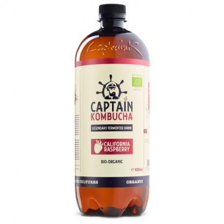 Captain Kombucha - California Raspberry (Certified Organic) - 1L