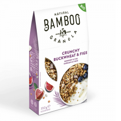 BAMBOO - Granola Crunchy Sarrasin & Figues Bio 350g