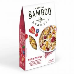 BAMBOO - Granola aux Fruits Rouges 350g