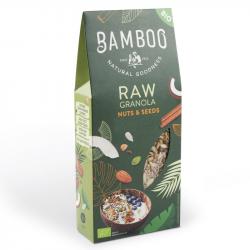 BAMBOO - Granola CRU Graines & Noix Bio 350g
