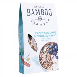 BAMBOO GRANOLA - Cirpsy Coconut & Cinnamon Hint - 350g