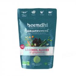 Beendhi - Seasoning VEGETABLES, ALGAE & ginger 40g
