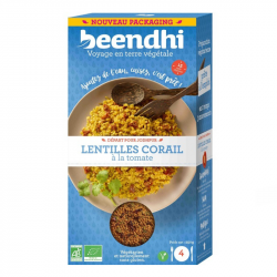 Beendhi - RED LENTILS with tomato 250g