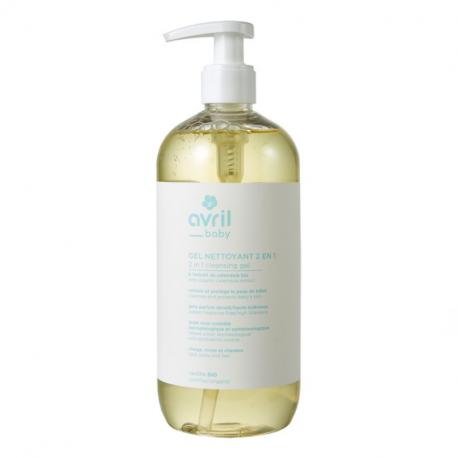 Avril - Organic 2 en 1 cleansing gel Baby 500 ml