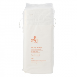 Avril - Cleaning pads x80 – In organic cotton