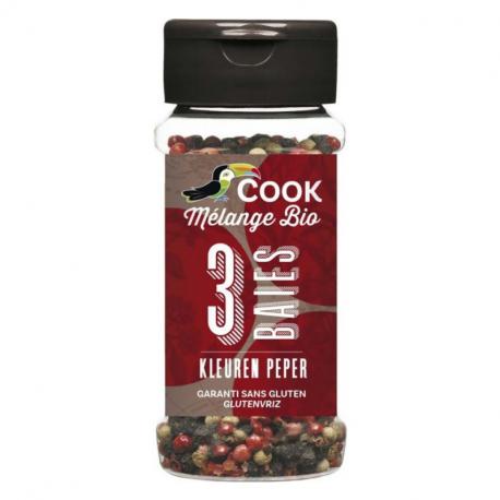 COOK - 3 Pepers Gemengd BIO 45g