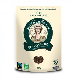Quinola - Quinoa Noir Bio et équitable 250g