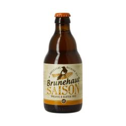 Brasserie de Brunehaut - Saison Organic Belgium Beer 33cl