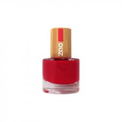 ZAO - Vernis à ongles : 650 (Rouge carmin) BIO