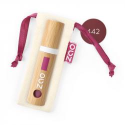ZAO - Bambou Encre à lèvres 442 Bordeau chic BIO
